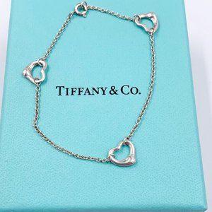 Authentic Tiffany & Co Open Heart Bracelet